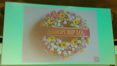 Hadopi as topic at 27C3