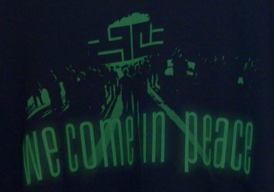 We come in peace, slogan of 27C3